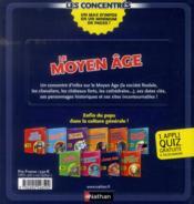 Le Moyen-Age - 4ème de couverture - Format classique