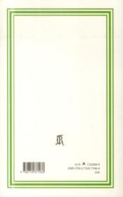 Chroniques d'un patachon 1930-1935 - 4ème de couverture - Format classique