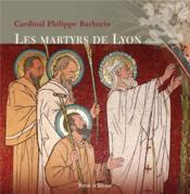 Les martyrs de Lyon - Couverture - Format classique