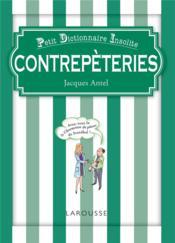 Contrepèteries - Couverture - Format classique