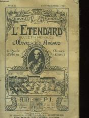 L'Etendard - Bulletin Mensuel - L'Oeuvre Argaud - Couverture - Format classique