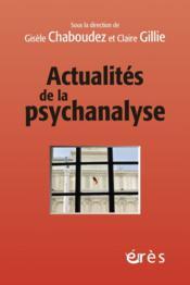 Actualités de la psychanalyse - Couverture - Format classique