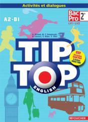 Tip-top english seconde bac pro cd audio - Couverture - Format classique
