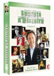 Secrets D'Histoire - Chapitre V - Couverture - Format classique