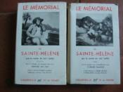 Mémorial de Sainte-Hélène. - Couverture - Format classique
