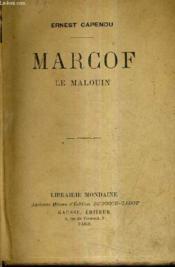 Marcof Le Malouin. - Couverture - Format classique