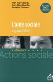 L'aide sociale aujourd'hui - Couverture - Format classique