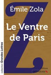 Le ventre de Paris - Couverture - Format classique