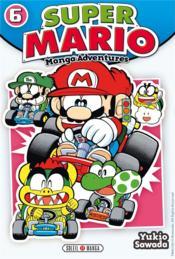 Super Mario ; manga adventures t.6 - Couverture - Format classique