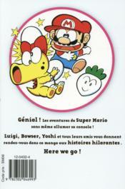 Super Mario ; manga adventures t.6 - 4ème de couverture - Format classique