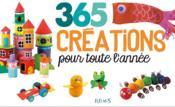 365 créations pour toute l'année - Couverture - Format classique