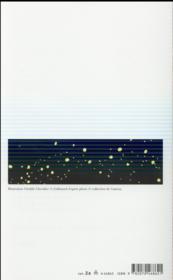 Somnambule du jour ; poèmes choisis - 4ème de couverture - Format classique