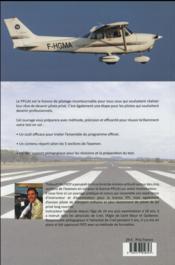 Préparer et réussir le test en vol du PPL(A) - 4ème de couverture - Format classique