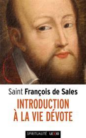 Saint François de Sales ; introduction à la vie dévote - Couverture - Format classique