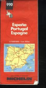 Espagne portugal 1/1 000 000 - Couverture - Format classique