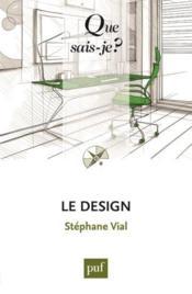 Le design (2e édition) - Couverture - Format classique