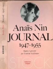 Journal 1947 - 1955 - Couverture - Format classique