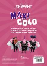 Maxi colo ; en avant - 4ème de couverture - Format classique