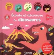 Écoute et découvre les dinosaures - Couverture - Format classique