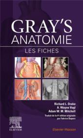 Gray's anatomie ; les fiches (3e édition) - Couverture - Format classique