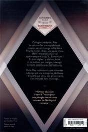Le mystère du temple disparu : Londres 2020-Londinium 260 après J.-C. - 4ème de couverture - Format classique