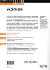 Volcanologie (6e édition) - 4ème de couverture - Format classique