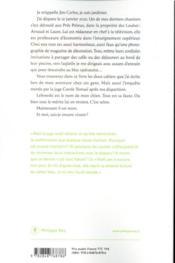L'os de Lebowski - 4ème de couverture - Format classique
