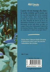 Luern ou l'hiver des Celtes - 4ème de couverture - Format classique