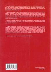 Creer Ses Propres Jouets - 4ème de couverture - Format classique