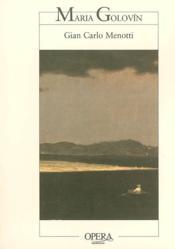 Maria golovin - Couverture - Format classique