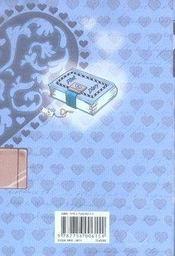 Pink diary t.4 - 4ème de couverture - Format classique