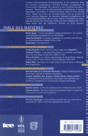 Annales d'etudes europeennes - 4ème de couverture - Format classique