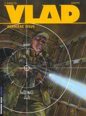 Vlad t.4 ; derniere issue - Intérieur - Format classique
