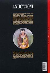 Un monde si tranquille t.2 ; anticyclone - 4ème de couverture - Format classique