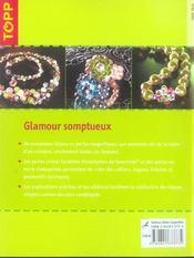 Glamour somptueux - 4ème de couverture - Format classique