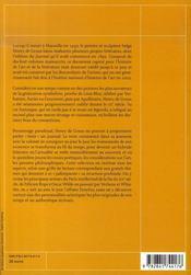 Journal ; henry de groux, 1866-1930 - 4ème de couverture - Format classique