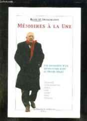 Memoires A La Une - Couverture - Format classique