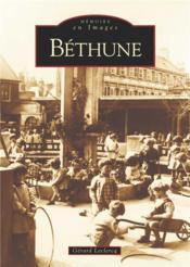Béthune - Couverture - Format classique