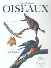 Le grand livre des oiseaux - Couverture - Format classique