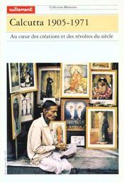 Aut.memoires 46 calcutta 1905-1975 - Intérieur - Format classique