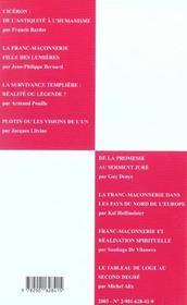 Villard de honnecourt n 54 - universalite de la transmission - 4ème de couverture - Format classique