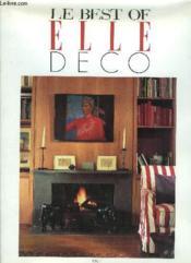 Le Best Of Elle Deco N.1 - Couverture - Format classique