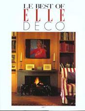 Le Best Of Elle Deco N.1 - Intérieur - Format classique