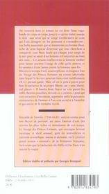Le Voyage Des Princes Fortunes - 4ème de couverture - Format classique