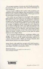 Le chamanisme - 4ème de couverture - Format classique