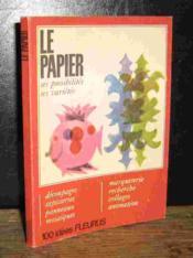 Le Papier - Couverture - Format classique