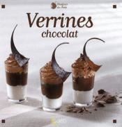 Verrines chocolat - Couverture - Format classique