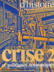 Crise et politique économique, la paysanne en U. R. S. S (1920 -1930) - Couverture - Format classique