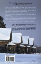L'orpheline des neiges T.1 - 4ème de couverture - Format classique