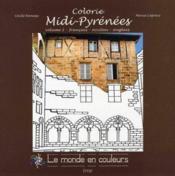 Colorie midi pyrenees - volume 1 - fra / occ /eng - Couverture - Format classique